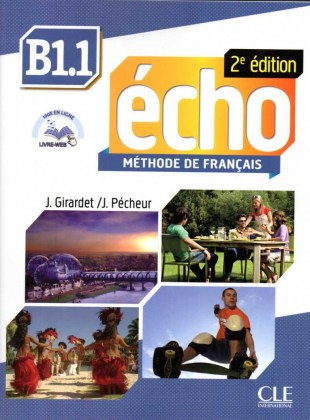 Echo B1 1 Methode Livre Web 2nd Edition