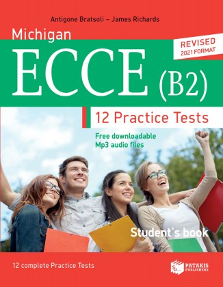 9789601690728-michigan-ecce-b2-12-practice-tests-student-s-book-free-downloadable-mp3-audio-files-revised-2021-format